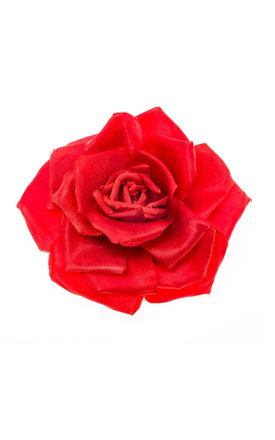 Serena Red Single Rose Corsage by Johnny Loves Rosie