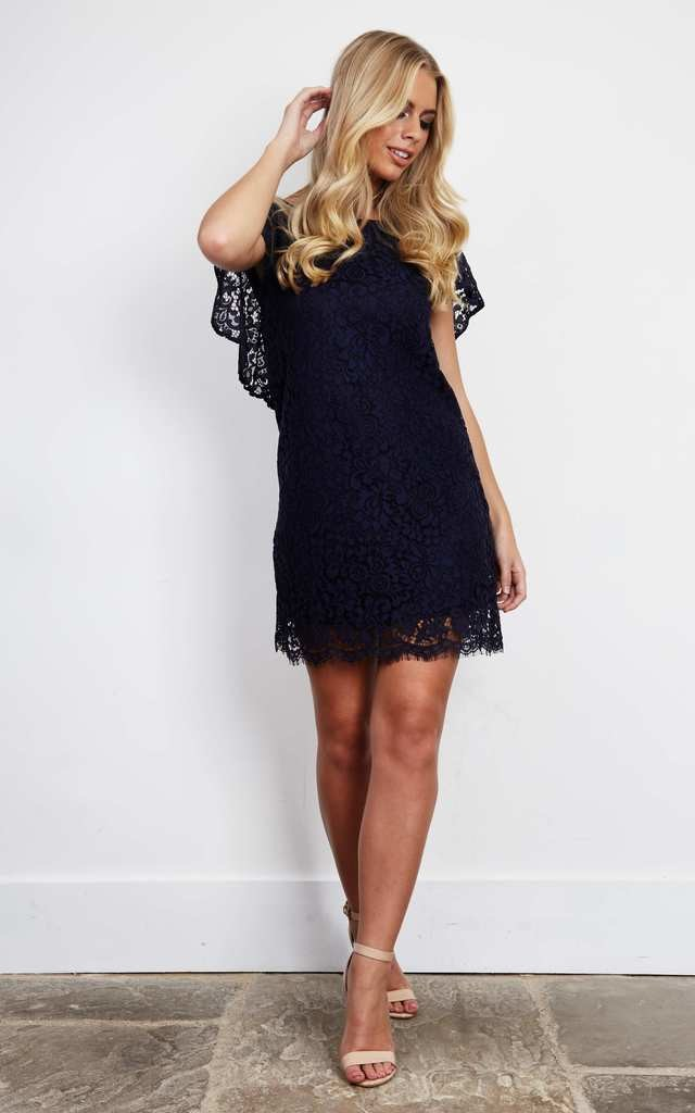 Louisa Navy Lace Dress by BeachHeart