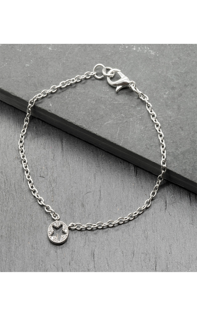 Star Pave Chain bracelet by LHG Designs