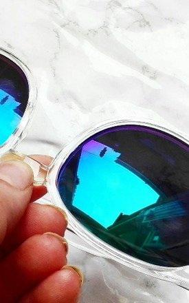 Perspex Reflective Sunglasses by Wanderdusk