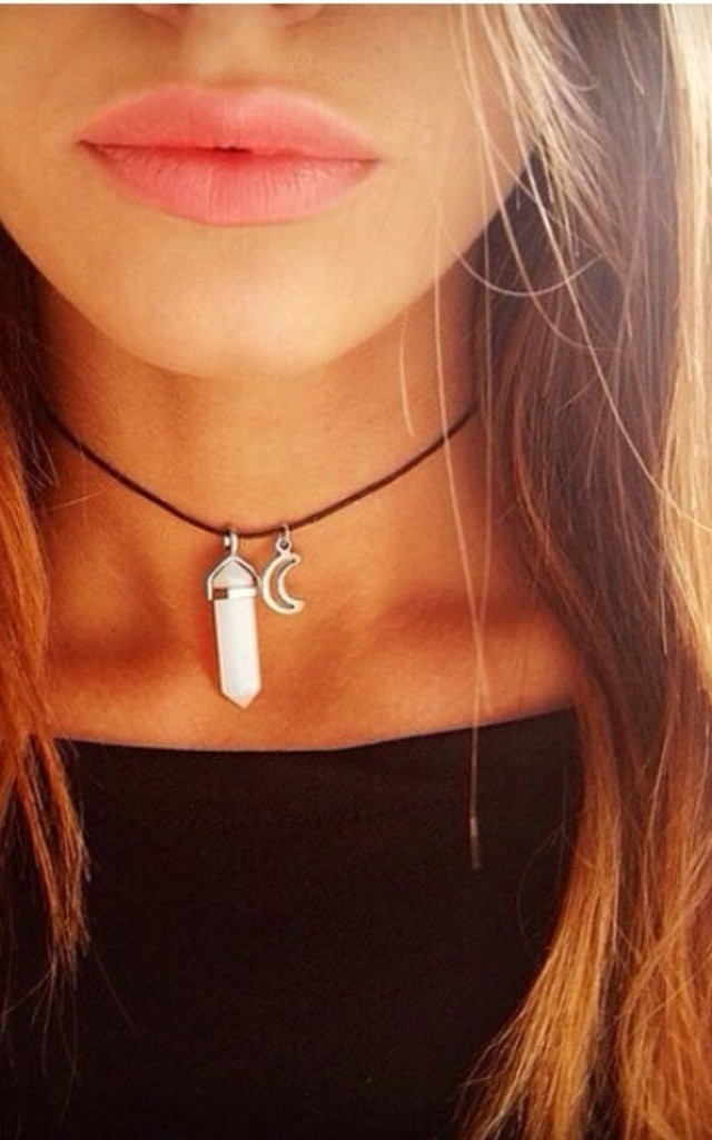 Opal Luna Choker by Diamond in The Sky