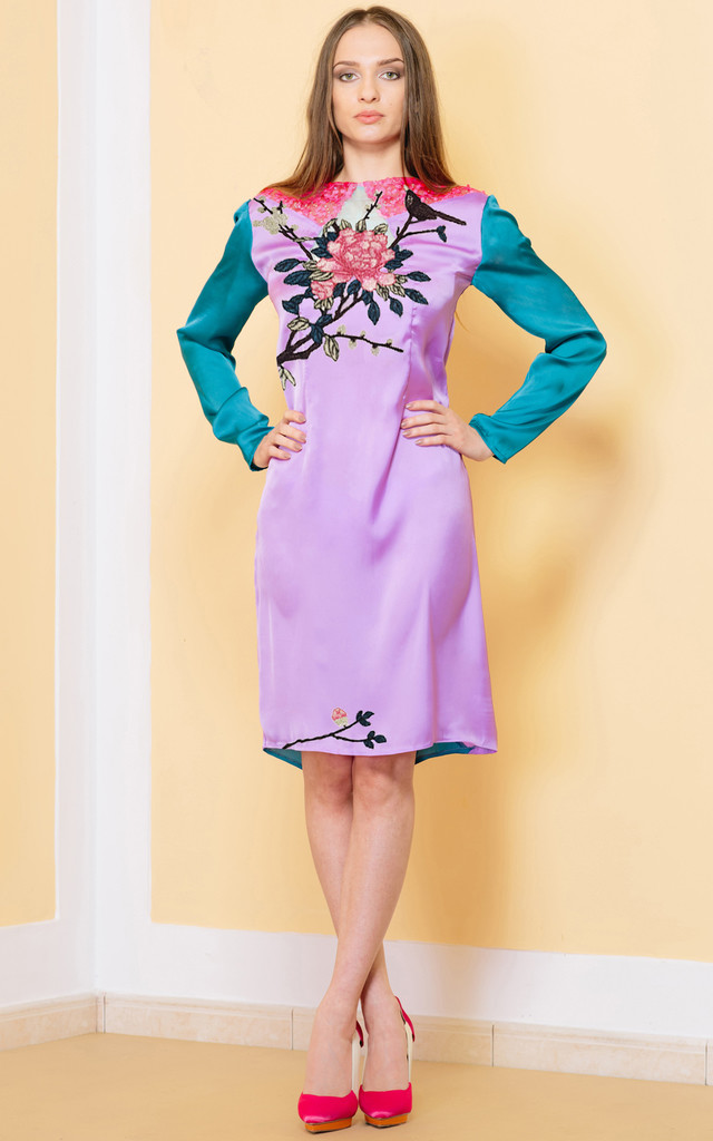 Save Your Goodbye Long Sleeve Dress by KITES AND BITES