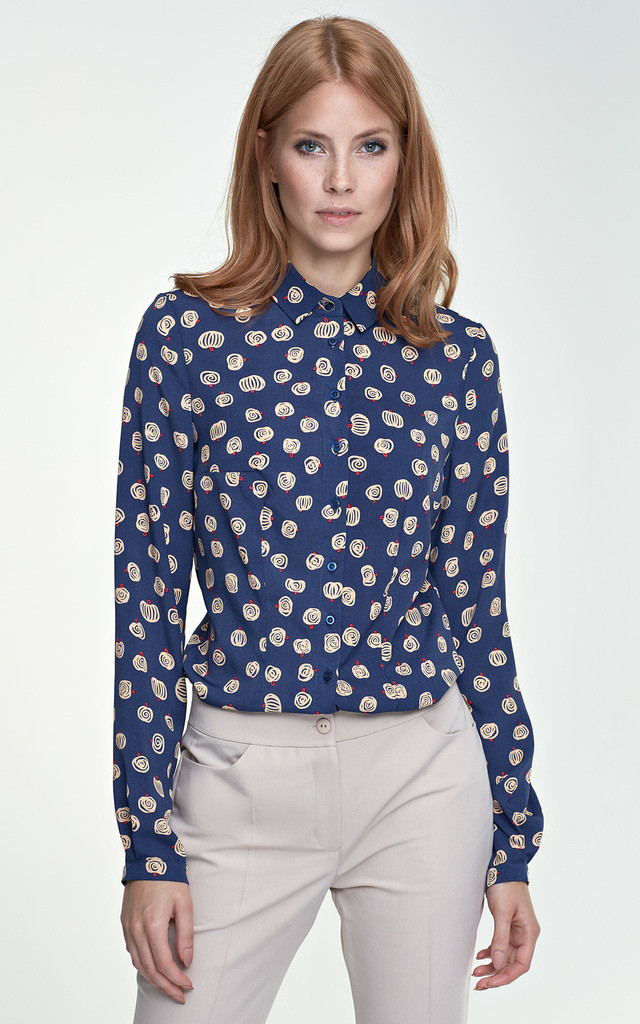 Delicate blouse - pumpkins by Nife