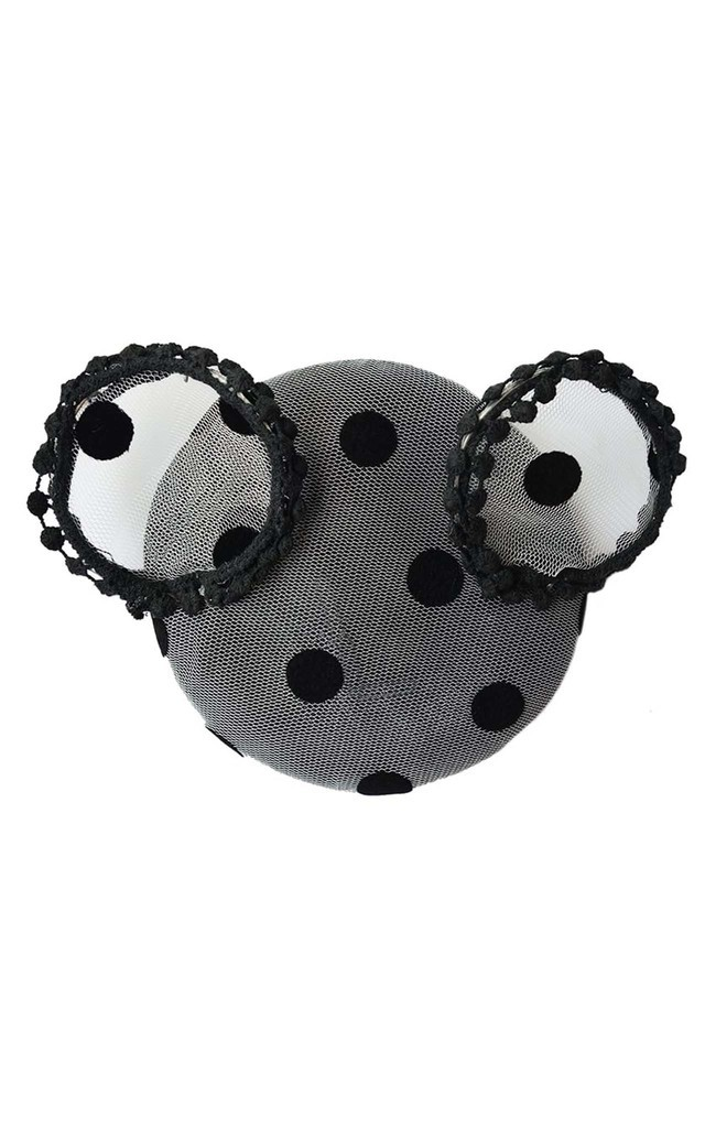 Gabrielle Spot Fascinator by Johnny Loves Rosie