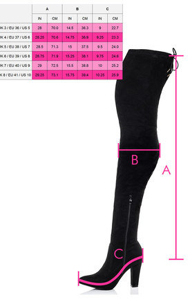 JAKKY Lace Up Very High Thigh Boots - Black Suede Style by SpyLoveBuy