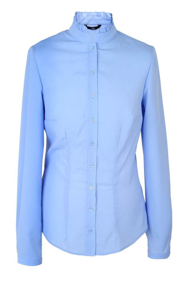 Blouse with collar by Nife