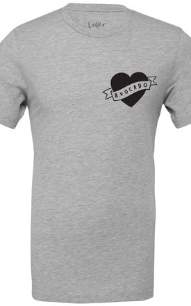Love Avocado T Shirt by Letter Clothing Company