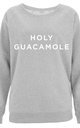 Holy Guacamole Scoop Neck Sweater by Letter Clothing Company