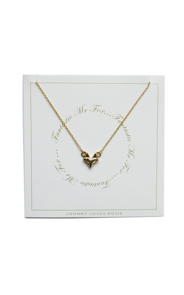 Johnny Loves Rosie Fox Gift Card Necklace by Johnny Loves Rosie