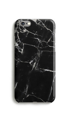 Black Marble Print Phone Case by Harper & Blake Product photo