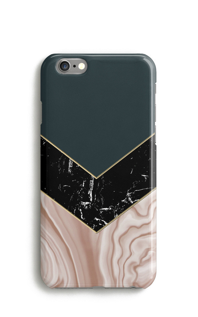 Agate Marble Print iPhone 7 Case by Harper & Blake