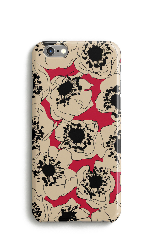Cherry Red Blossom Phone Case by Harper & Blake
