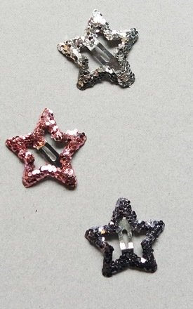 Magic Star Snap Clip Trio by Crown and Glory