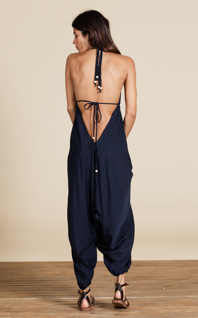 Genie Jumpsuit in Navy Blue image