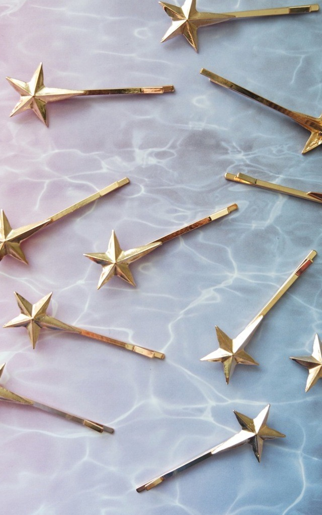 Shooting Star Bobby Pin Pair by Crown and Glory