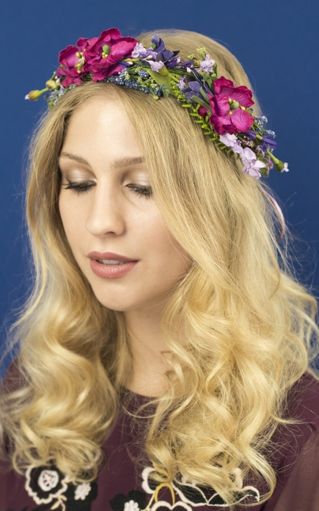 Meadow Crown in Briar Rose by Crown and Glory