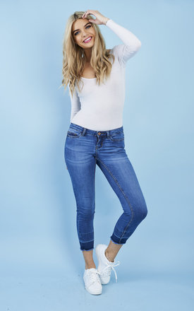 Super Slim Ankle Jeans by Noisy May Product photo