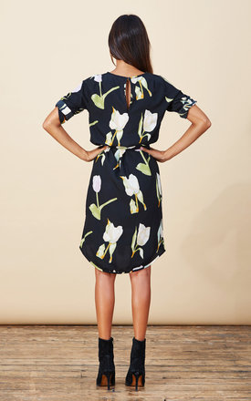 Chiquita Dress in Tulip Print by Dancing Leopard