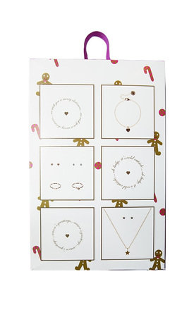 Gingerbread Man Jewellery Advent Calendar by Johnny Loves Rosie