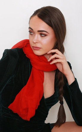 Dorothy Red Pashmina by Kitten Beachwear