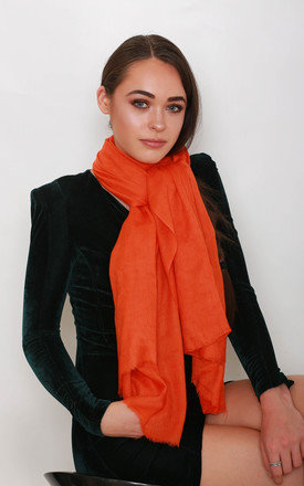 Squash Orange Pashmina by Kitten Beachwear
