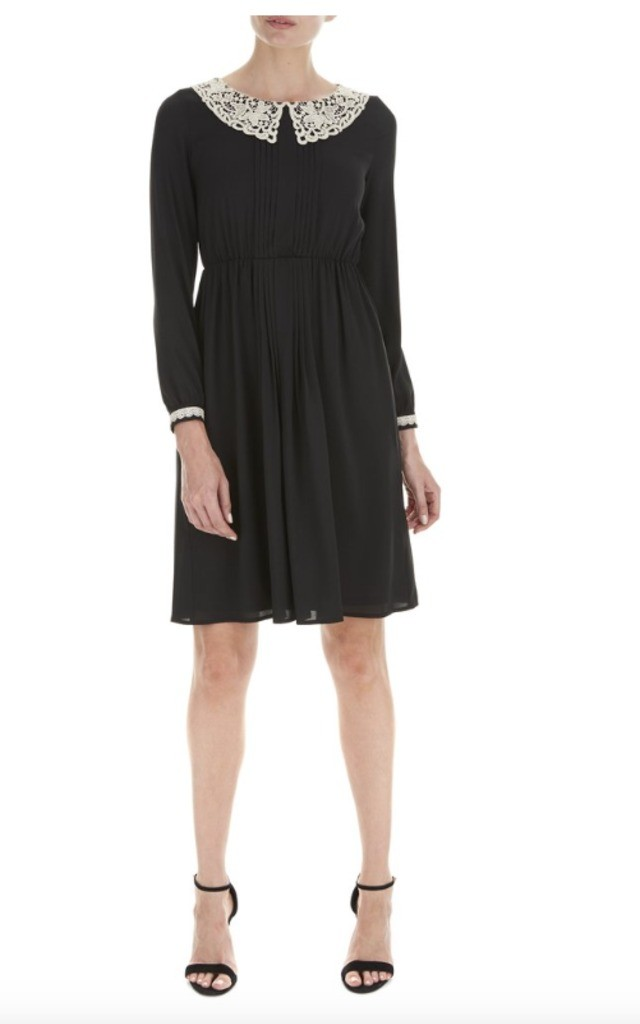 Holly Collar Detail Dress by Nougat London