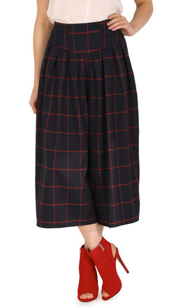 Checked Culottes by Cutie London