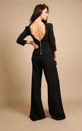 Angel Trouser Midnight Black by Rebecca Rhoades