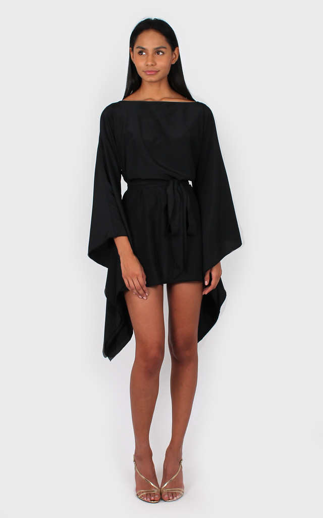 Holly Dress black by Bullet