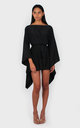 Holly mini dress black by Bullet
