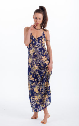 Zen Maxi in Navy Floral by Dancing Leopard