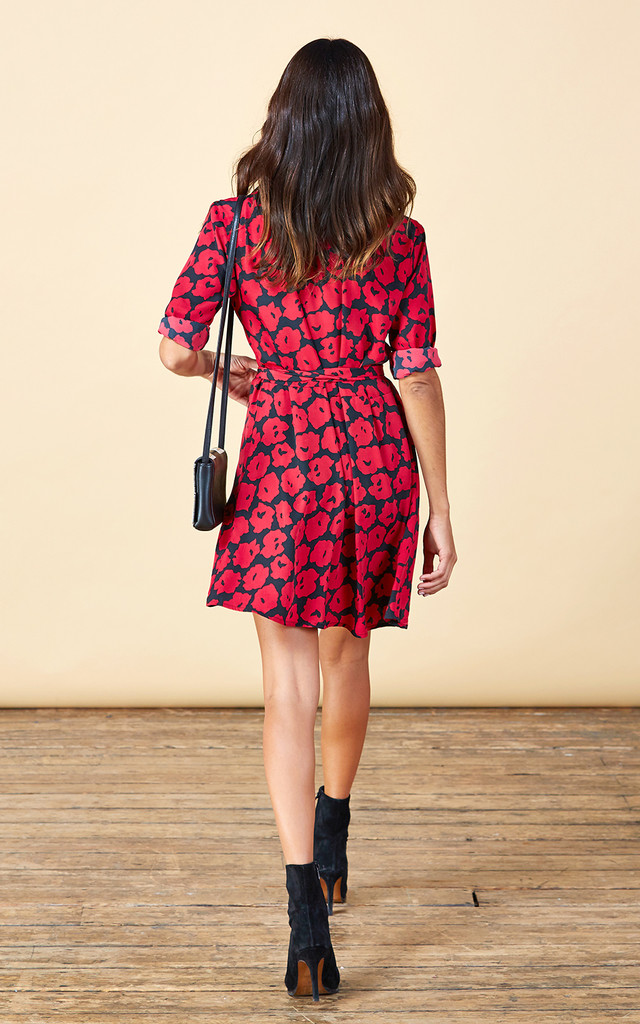 Zeina Mini in Poppy Print image