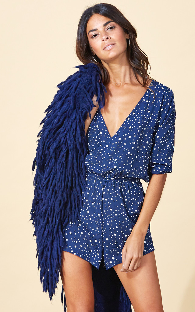 Tiago Playsuit in Navy Star image