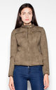 Olive Quilted jacket by Venaton