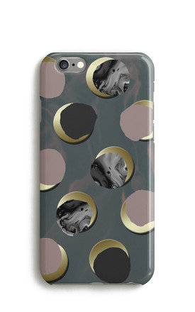 Marble Polka Dots Print Phone Case by Harper & Blake Product photo