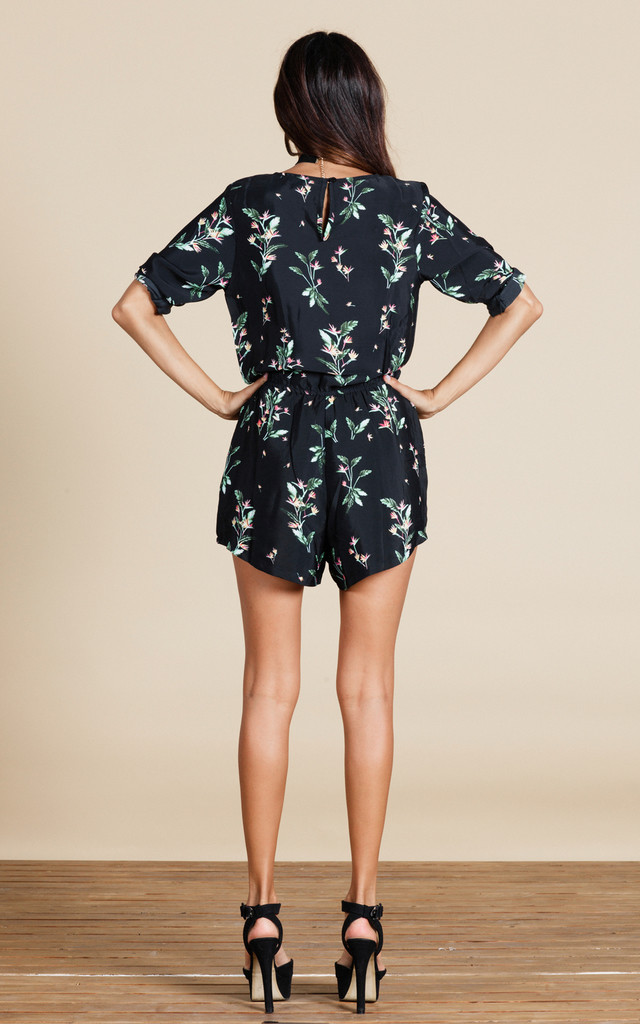Tiago Playsuit in Midnight Paradise image