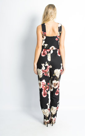 Floral Print Jumpsuit by Npire London