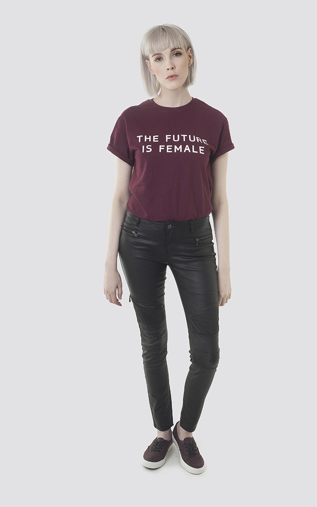 The Future is Female T-Shirt by Moth Clothing