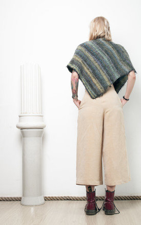 90s vintage knit poncho by Pop Sick Vintage