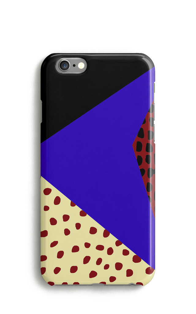 Memphis Geometric Colour Block Phone Case by Harper & Blake