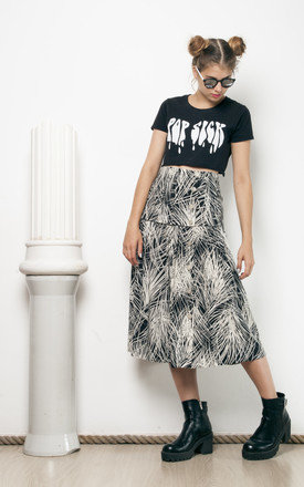 80s vintage high waisted skirt by Pop Sick Vintage