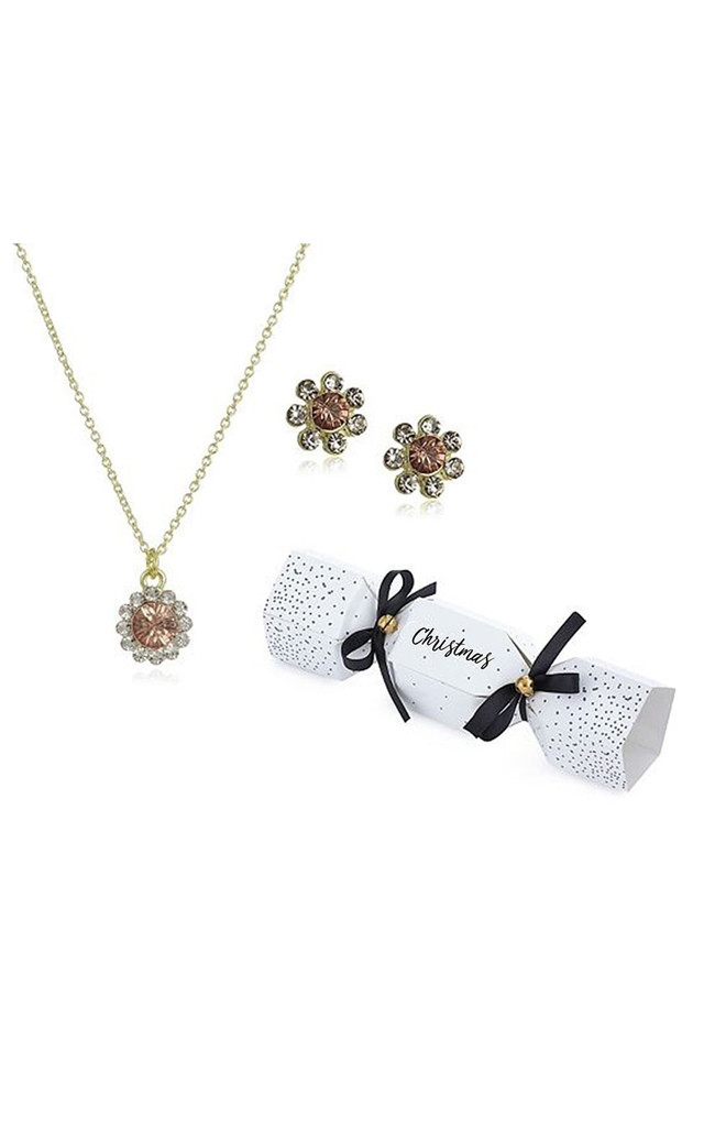 Gold Jewellery Set Cracker by Johnny Loves Rosie