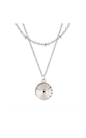 Silver Bauble Necklace by Johnny Loves Rosie