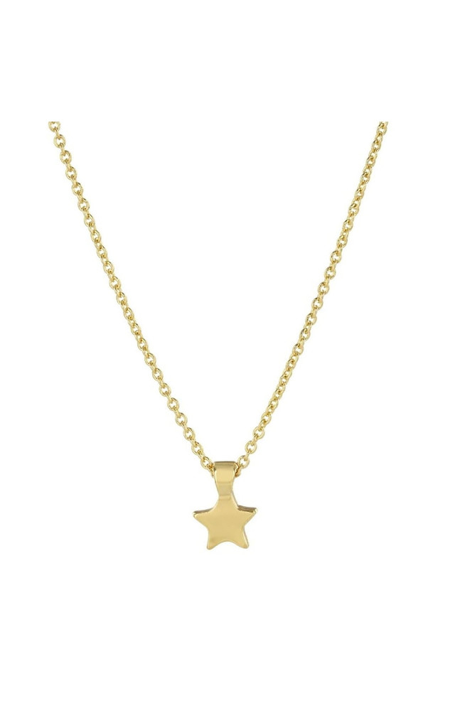 Black Star Necklace Gift Decoration by Johnny Loves Rosie