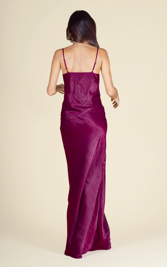 Savannah Maxi in Oxblood Red  image