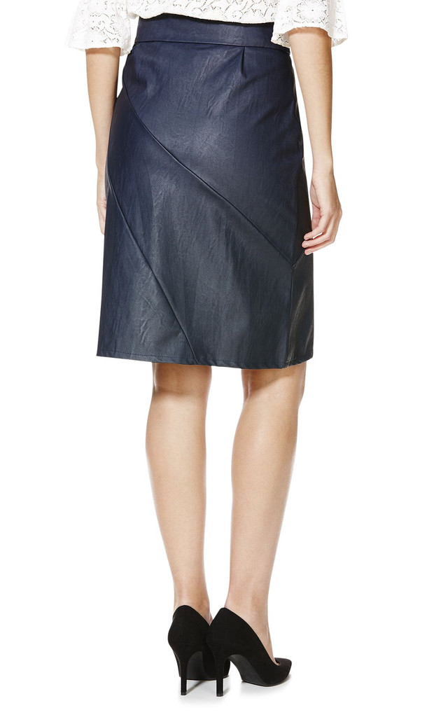 Panelled Pencil Skirt by Cutie London