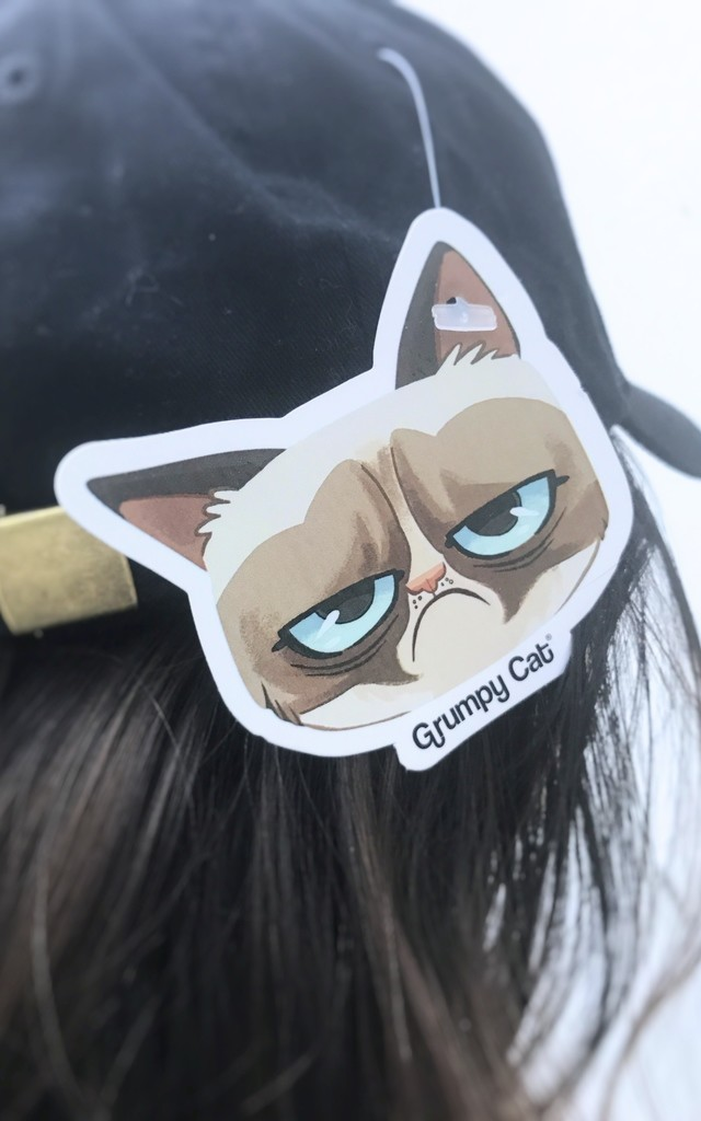 Grumpy Cat Christmas Cap by Adolescent Clothing
