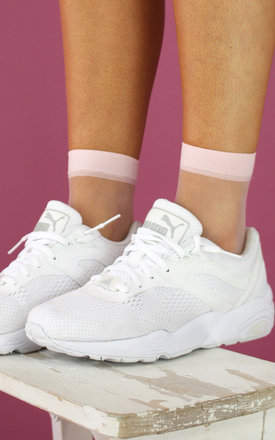BABY PINK MESH SOCKS by Cats got the Cream