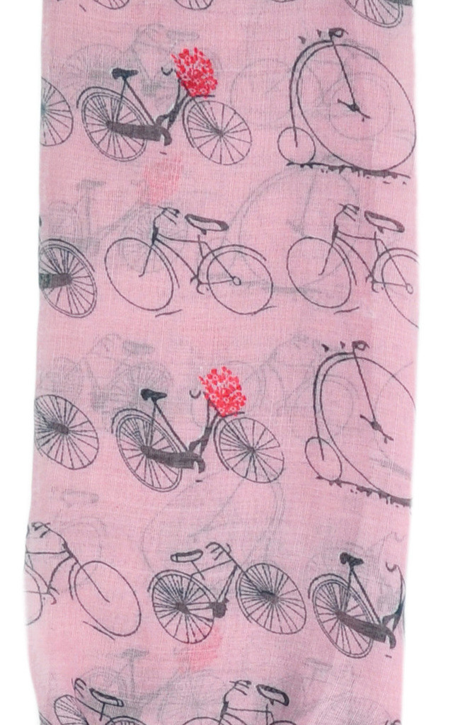 BICYCLE PRINT SCARF by GOLDKID LONDON