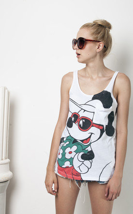 90s vintage Mickey Mouse print tank top by Pop Sick Vintage